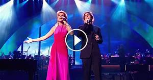 """Celine Dion and Josh Groban Perform """"The Prayer"""" in ..."""