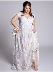 simple plus size wedding dress with embroiderycherry marry With plus dresses for weddings