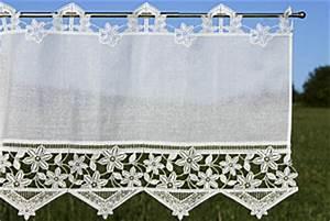 Panneaux Gardinen Modern : kurzgardinen oder scheibengardinen aus plauener spitze online kaufen ~ Markanthonyermac.com Haus und Dekorationen