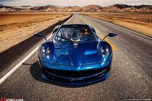 Pagani Huayra - Dark Blue, Brown interior, US spec 76055 ...