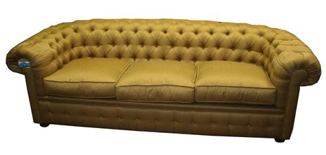 Cuscini Divano Oro :  Divano Chesterfield Color Oro