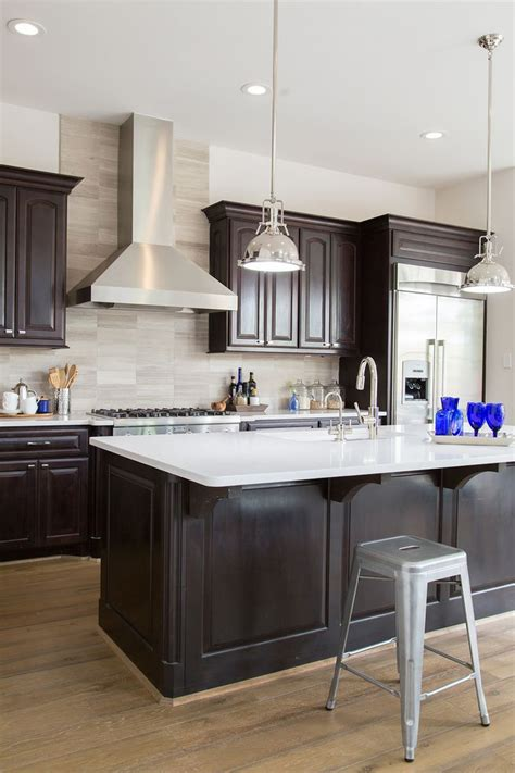 what color floor with dark cabinets best ideas about espresso cabinets gallery with what color
