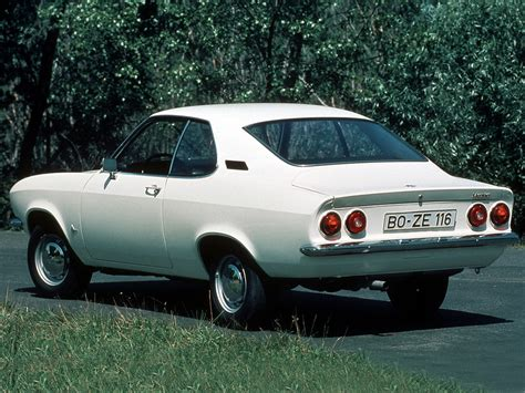 Opel Car 1970 by In Time 1970 Cars Opel Manta A
