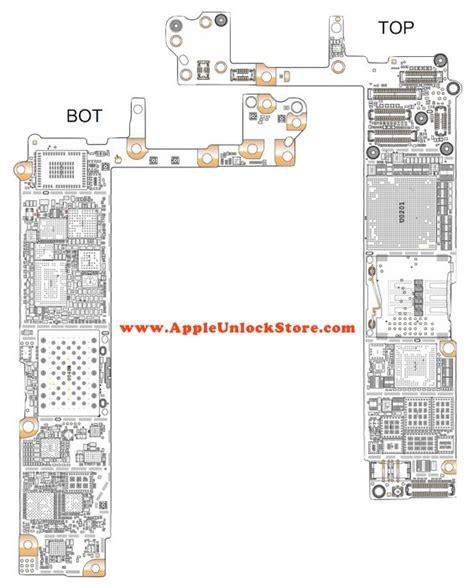 scrwe parts breakdown  iphone   diagram