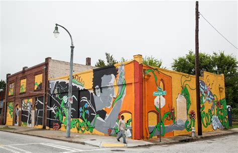 Artist Spotlight Laura Bell And Matt Haffner's New Mural. Academic Murals. Baroque Banners. Hurricanes Logo. Street Nyc Murals. Intestinal Worm Signs. Old School Murals. Nation Stickers. Harp Logo