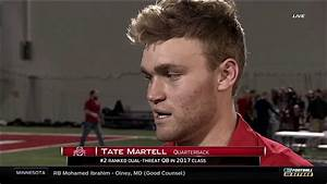 Tate Martell On Signing To Ohio State YouTube