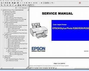Epson R280  R285  R290  R295 Printers Service Manual And