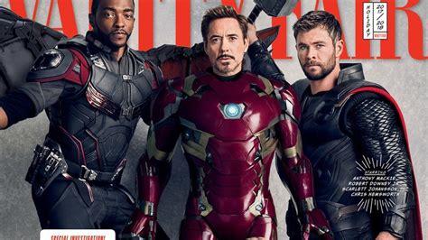 Avengers Infinity War Vanity Fair Covers Photos The