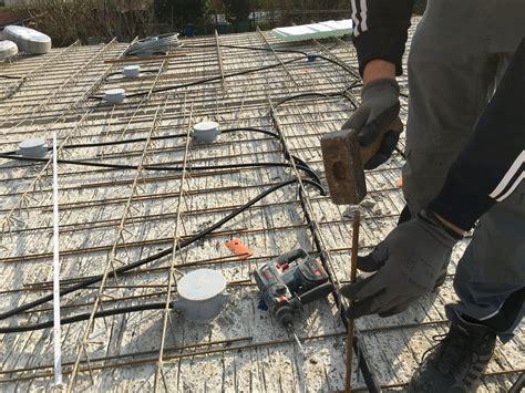 haus elektroinstallation selber machen elektroinstallation leerrohre ind die betondecke legen elektroinstallation selber machen