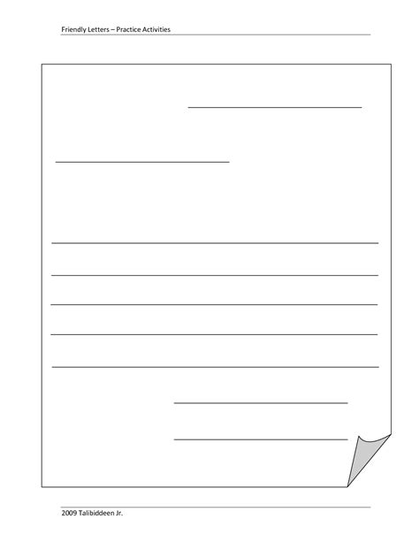 Fill In The Blank Cover Letter Free by Refrence Blank Letter Template 2nd Grade Kishsafar