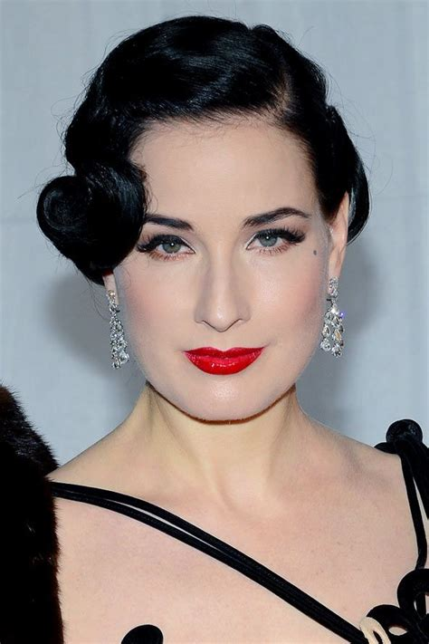 Roaring 20s Hairstyles Hair by Dita Teese S 20s Coiffed Hairstyle Hair