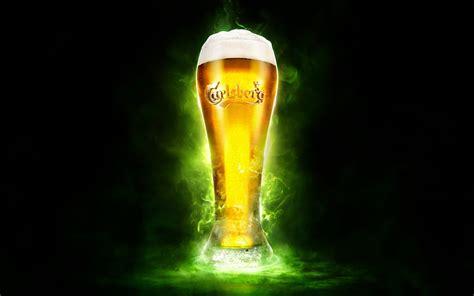 wallpaper carlsberg beer glass  lifestyle
