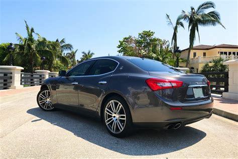 Rent A Maserati by Maserati Ghibli Rental Miami Rent A Maserati In Miami