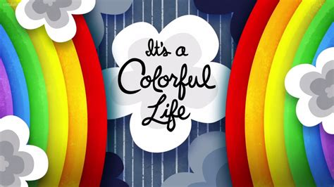 It's A Colorful Life  Disney Wiki  Wikia