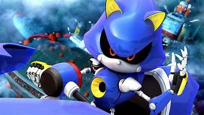 Sonic Metal Rock Deviantart Racing Stars Backgrounds