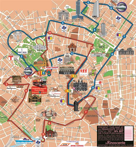 siege complet milan en à impériale hop on hop city sightseeing