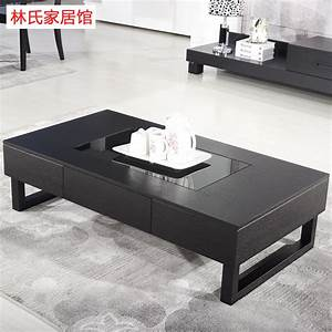 Ikea Table Tv : small apartment ikea coffee table tv cabinet matching black oak wood coffee table glass coffee ~ Teatrodelosmanantiales.com Idées de Décoration