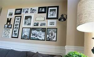 helpful hints for displaying family photos on your walls With what kind of paint to use on kitchen cabinets for framed monogram wall art
