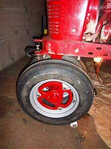 Farmall H And M Front Wheels