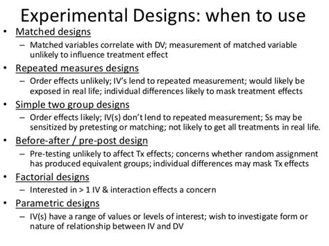 experimental design exles fixed designs for psychological research