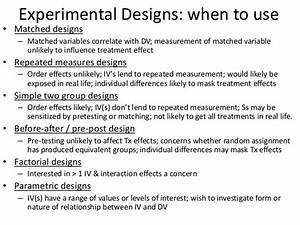 Experimental Design Examples Images