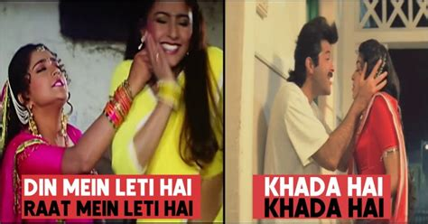 5 Embarrassing Double Meaning Songs In Bollywood Movies