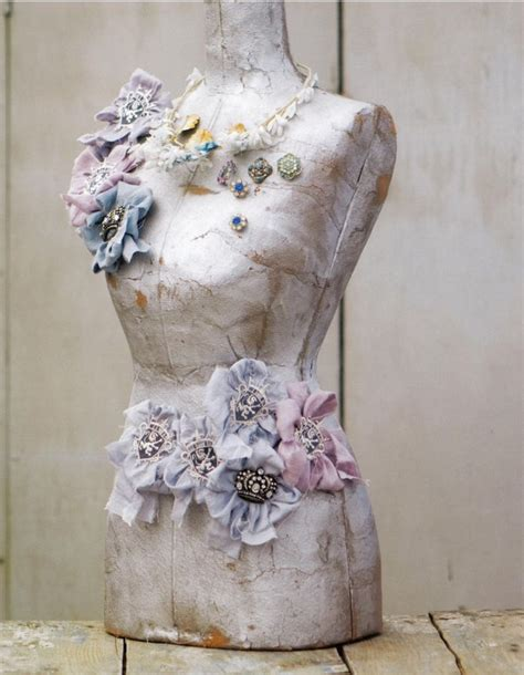 shabby chic mannequin love embellished mannequins mannequins pinterest pin cushions ipad and shabby chic