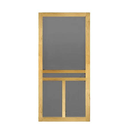 home depot wooden screen doors 32 in x 80 in t bar wood screen door wtbar32 the home