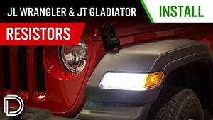 How To Install Resistors For  U0026 39 18  Jeep Jl Wrangler  U0026 Jt