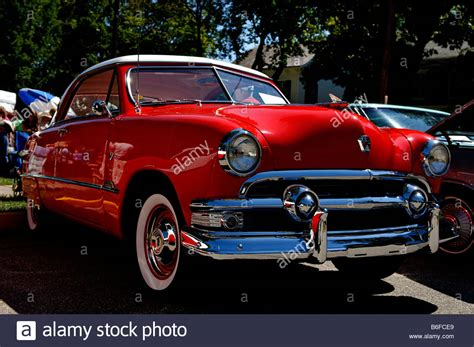 Car Usa News : 1951 Ford At A Classic Car Show In Belvidere, New Jersey