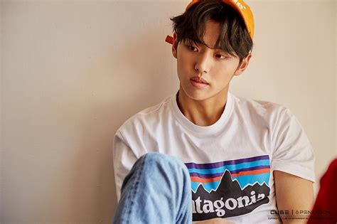 yg trainee  pentagon member hongseok profile
