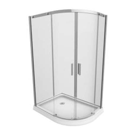 36 Shower Stall - renwil 36 in x 48 in x 77 in 4 shower stall in