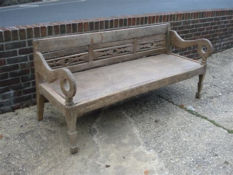 Sold20c Bench  Antique Chairsbenches