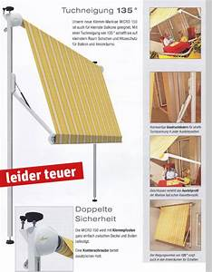 Klemm Markisen Nach Maß : markise befestigen balkon ek11 hitoiro ~ Bigdaddyawards.com Haus und Dekorationen