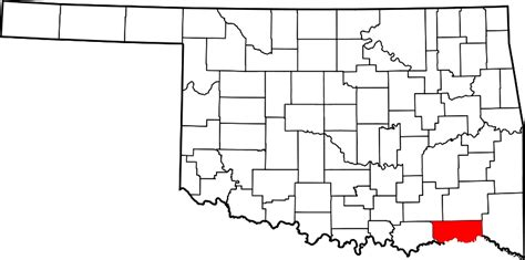 filemap  oklahoma highlighting choctaw countysvg