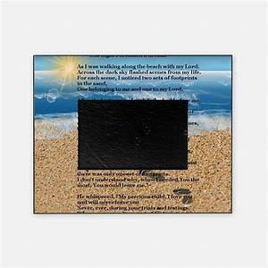 Footprints In The Sand Picture Frames | Footprints In The ...