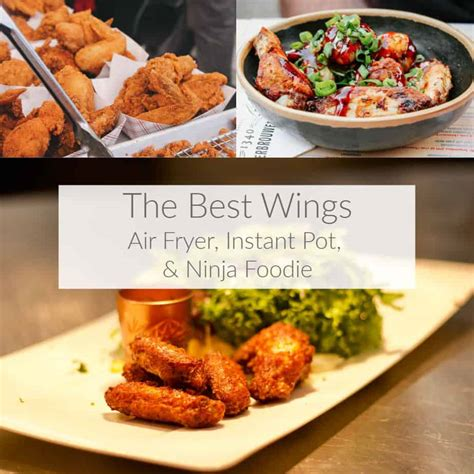 wings chicken fryer air recipes instant pot square