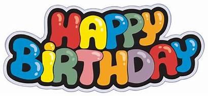 Birthday Happy Fonts Creative Vector