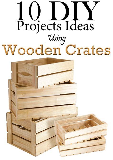 diy projects ideas  wooden crates kastes diy