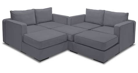 Lovesac Sactional by Large Modular Sectional 7 Seats 8 Sides Lovesac