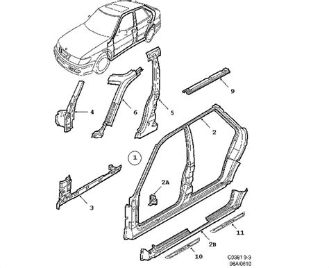 Parts Of A Car Door Frame