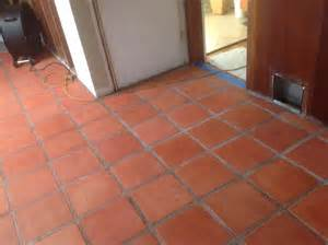 staining and sealing saltillo tile the correct way california tile restoration