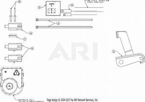 Troy Bilt Horse Xp  13yx79kt011   2016  Parts Diagram For Electrical