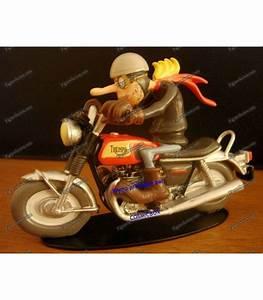 Figurine Joe Bar Team : figurine resin joe bar team triumph 750 bonneville motorcycle will debwatt lead ~ Medecine-chirurgie-esthetiques.com Avis de Voitures
