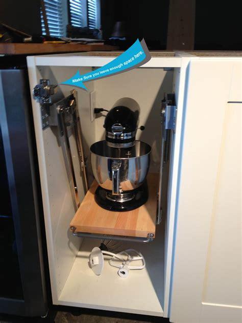 ikea cabinets  mixer lift ikea hack kitchen kitchen