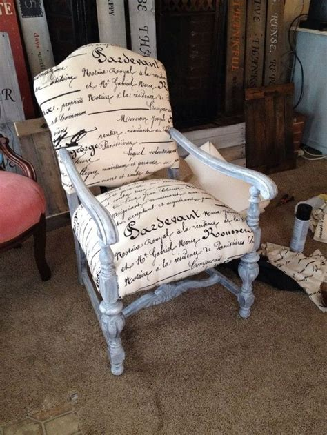 repainted and reupholstered wood chairs hometalk