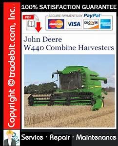 John Deere W440 Combine Harvesters Service Repair Manual