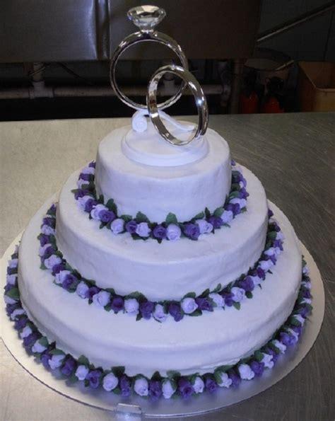 lavenderpurple rose wedding cake cakecentralcom
