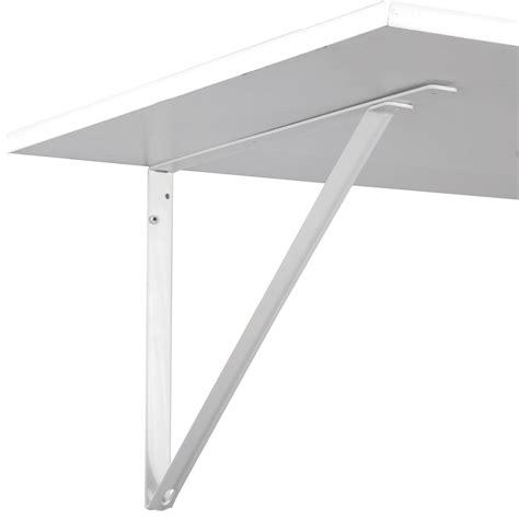 fixed hd shelf bracket 10 1 4 white