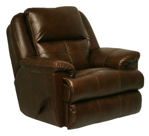 leather glider recliner with catnapper crosby top grain leather chaise swivel glider